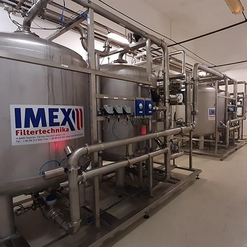 Imex Filtertechnika sorgt für das Reinheitsgebot